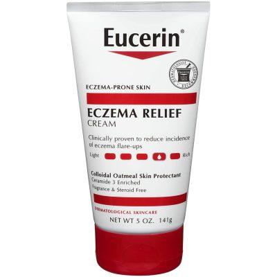 Eucerin Eczema Relief Cream - Full Body Daily Lotion for Eczema-Prone Skin - 5 oz. Tube